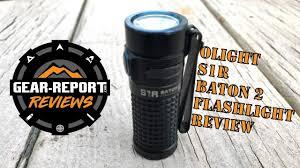 Hydro Light Flashlight Review Olight S1r Baton 2 Flashlight Review Gear Report