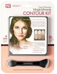 magic minerals contour makeup palette plete contour kit by jerome alexander souq uae