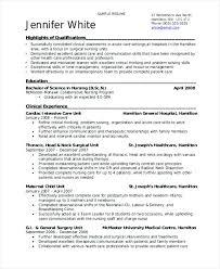 Nursing Student Resume Interesting Student Nurse Resume Student Nurse Resume Nursing Student Resume