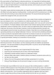 free selection criteria example prioritising skills interview skillscover lettersdream cover letter selection criteria