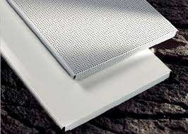 custom perforated metal ceiling tiles panels e shaped for drop down ceiling hook on
