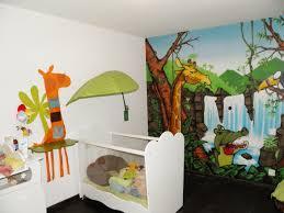 Deco Chambre Bebe Theme Jungle Inspirations Avec Dacoration Decoration Chambre Enfant Sur Les Themes De Safari Et Jungle Chambre Enfant