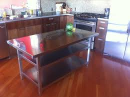 stainless steel kitchen table. Kitchen Surprising Island Table Ikea Modern With Regard To Metal Intended For Stainless Steel