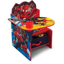 chair desk with storage bin. delta children® marvel spider-man chair desk with storage bin d