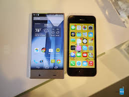 sharp aquos phone. sharp aquos crystal versus apple iphone 5s first look - image from 5s: aquos phone