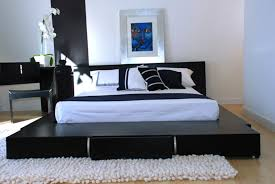 furniture interior design ideas black and modern bedroom grey set