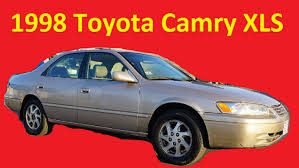 1998 Toyota Camry XLS Interior Video Review Cult Classic Car - YouTube