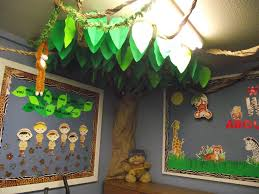 Jungle Theme Decorations Part Of The Jungle Theme Sunday School Room Decorations I Recently