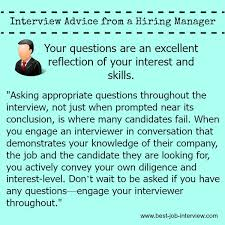 Good Questions To Ask Interview Best Job Interview Question To Ask In Your Interview