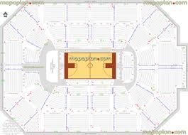 Ncaa Basketball Tournament Seating Chart Allstate Arena Chicago Sky Wnba And Depaul Blue Demons