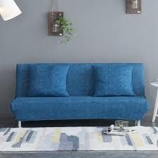 armless chair linen swedish