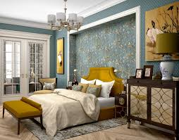 Mustard yellow furniture Charcoal Painted Reserved Modern Classics In Shades Of Beige Blue Mustard Yellow Homeklondike Reserved Modern Classics In Shades Of Beige Blue Mustard Yellow