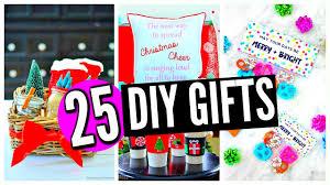 25 diy gifts for friends family boyfriend mom dad