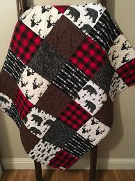 baby boy quilt rustic baby quilt deer baby quilt baby boy crib bedding baby furniture rustic entertaining modern baby