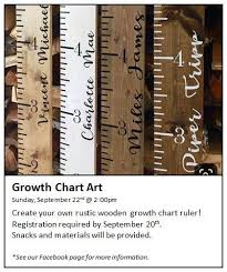 Growth Chart Art Beulah Public Library