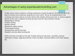 expert academic writing  excellent communication skills 3 advantages of using expertacademicwriting com unlike many online academic writing companies