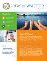 ABFAS Spring 2016 Newsletter by ABFAS - issuu