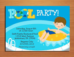 printable invitations for kids free printable pool party invitations for kids 5 lily birthday