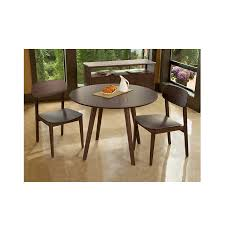 currant 42 round dining table black walnut
