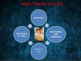 themes of sense and sensibility