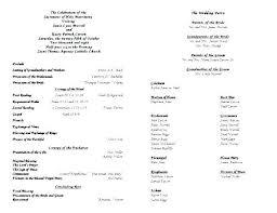 Catholic Wedding Mass Program Memorial Mass Program Template Funeral Mass Template Free Memorial