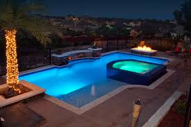 Luxury Backyards Traditional Pool Austin by Cody Pools Inc