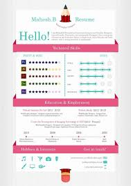 Free Infographic Resume Template Download Sample Graphic Templates
