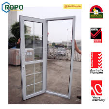 china australia standard double glass french door safety glass door with grill design china french door upvc window and door