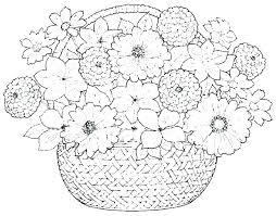Flower Printable Coloring Pages Pretty Flowers Coloring Pages Flower