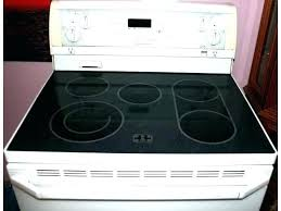 clean electric stovetop cleaning electric oven whirlpool oven gold self cleaning electric range pertaining to designs 8 on clean electric stovetop glass