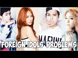 do kpop idols dating foreigners