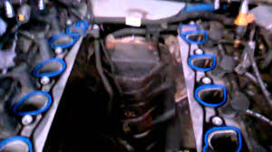 1998 ford expedition 4.6 intake manifold - YouTube