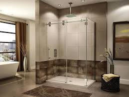 partial glass shower door showers partially frosted glass shower doors