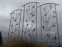 Small Picture Ideas For Metal Garden Trellis Design 20486