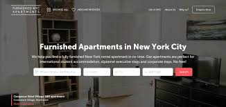 apartment website design. Furnished NYC Apartments Apartment Website Design