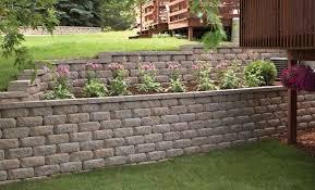 retaining wall blocks diamond stone