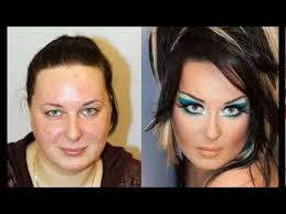 ugly to pretty makeup does wonders transformation