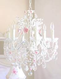 luxury childrens pink chandelier and pink