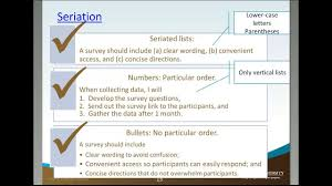 Seriation Other Apa Guidelines Academic Guides At Walden University