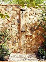 outdoor shower ideas stone wall outdoor shower outdoor shower ideas for beach house