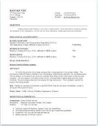 Standard Format Resume Interesting Resume In Text Format Means Regular Standard Sample Electronic