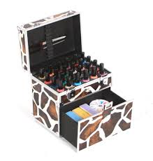 Nail Polish Box Case by Urbanity Cosmetic Varnish Vanity Makeup ...