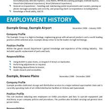 The Australian Employment Guide. A Simple Resume Example Resume ...