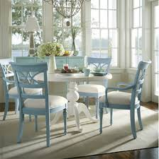 painted dining room set. paint dining table and chairs with rust-oleum pastel colours painted room set
