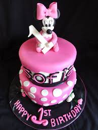 minnie mouse cake ideas pink little cake pink baby minnie mouse cake