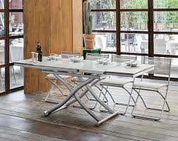 contemporary target point dione convertible extending coffee table to dining table view 3