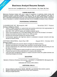 Business Analyst Resume Sample Awesome Business Analyst Resume Sample Download Objective It Letsdeliverco