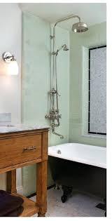 clawfoot tub shower curtain solutions tub idea floor drain under tub means no back shower curtain