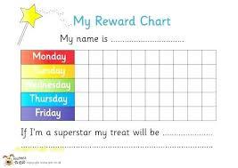 Printable Reward Girls Online Charts Collection