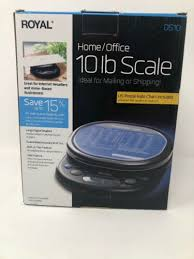Royal Digital Scale 10 Lb Ds10 Postal Home Office Kitchen Business Large Display